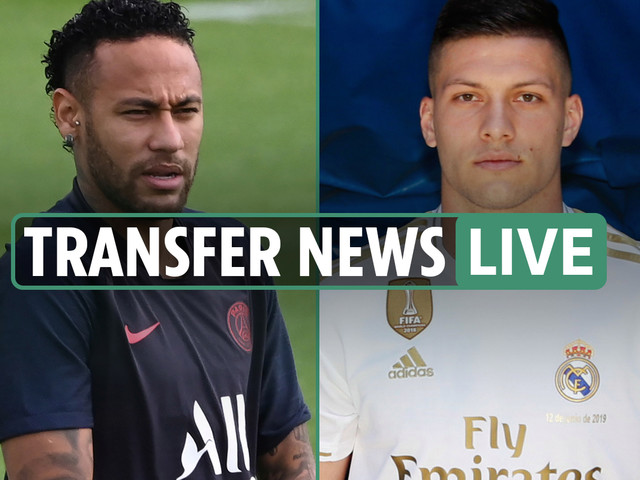 8.30am transfer news LIVE: PSG want Vinicius for Neymar, Jovic may leave Madrid on loan, Mustafi Arsenal exit LATEST, Sanchez wants Man Utd stay