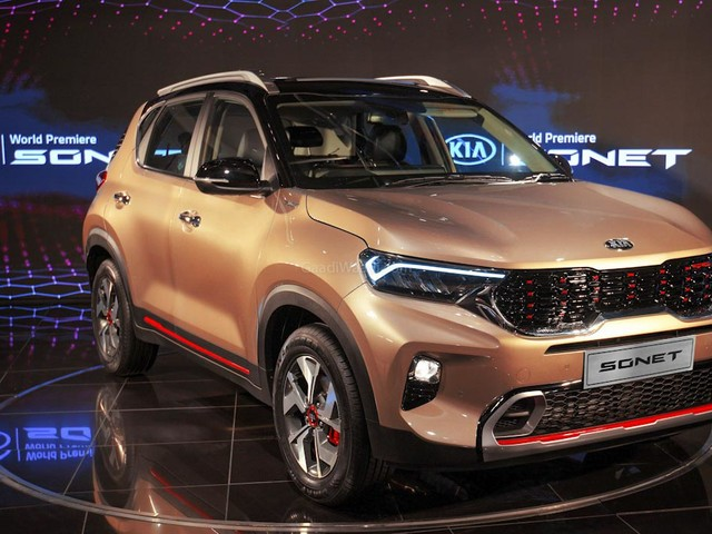 Kia Sonet Launched In Nepal From Rs 22.50 Lakh Onwards