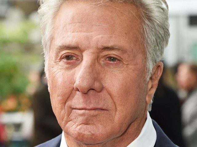Dustin Hoffman quizzed live on stage by John Oliver over accusations he groped women