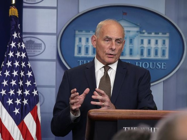 Today's Impeach-O-Meter: John Kelly Really, Really Loves Working for Donald Trump. (Really!)