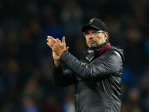 Bang on target: Manager Jurgen Klopp claims Liverpool are on course to fulfil trophy pledge