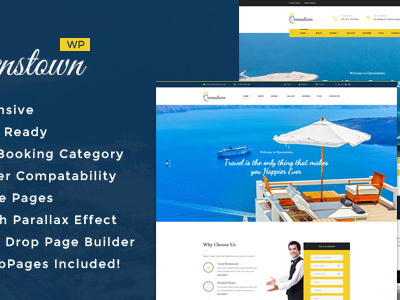 QueensTown : Resort and Hotel WordPress Theme (Travel)