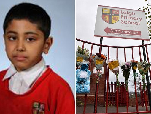 Schoolboy, 10, dies five days after falling and hitting his head in the playground