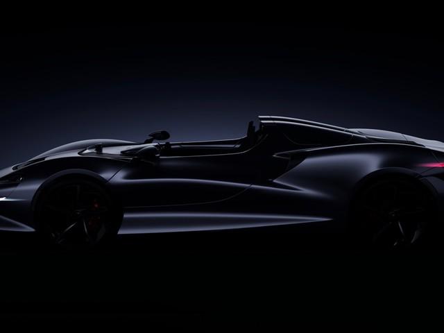McLaren Roadster teased ahead of its 2020 arrival