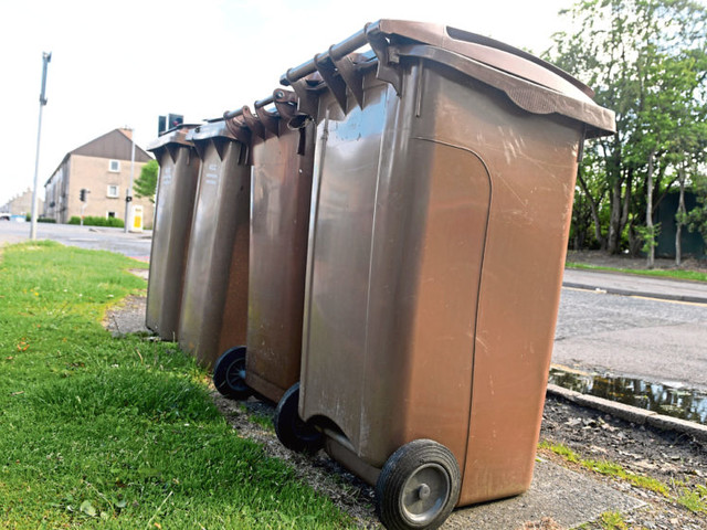 Coronavirus: Aberdeen City Council suspends collection of recycling and brown bins