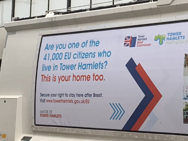 London Council Uses Bin Lorries To Tell EU Residents 'This Is Your Home'