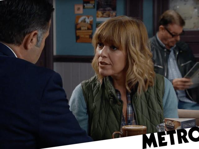 Is Rhona Goskirk leaving Emmerdale with Graham Foster?