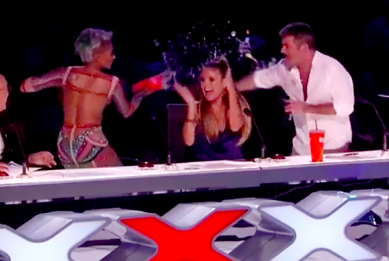 Poll: Was Simon Cowell's Joke About Mel B's Marriage 'Rude and Inappropriate' or Not?