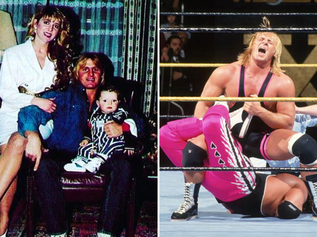 Owen Hart's wife Martha forgives WWE after his death at 1999's Over The Edge in new Dark Side Of The Ring documentary