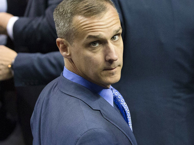 Corey Lewandowski appears to be working with another lobbying firm - Politico