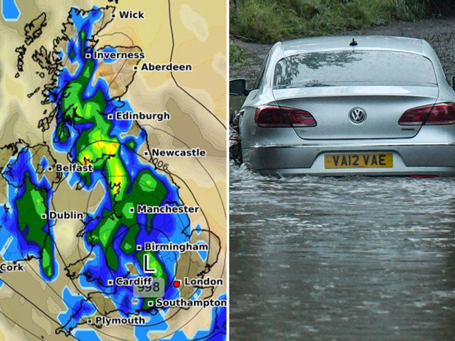 UK weather forecast – Met Office warn of more flooding as thunderstorms batter Britain