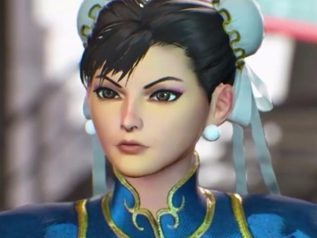 It looks like Capcom's fixed Chun-Li's face in Marvel vs. Capcom Infinite