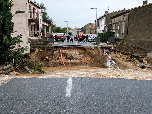 Elderly nun among nearly dozen killed in heavy flooding in France