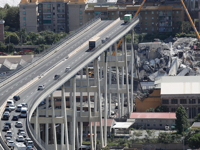 Firm Running Collapsed Genoa Bridge Ordered To Pay For Rebuild