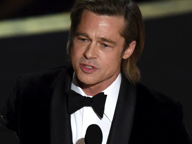 Brad Pitt denies reports that he used a speechwriter for his lauded acceptance speeches: 'It's got to come from the heart'