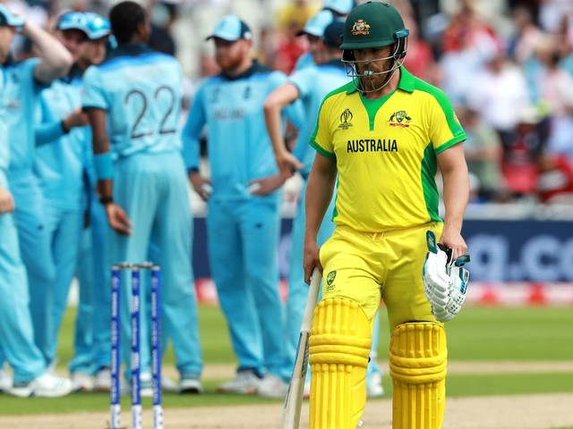 Australia Englanded themselves in a Cricket World Cup semifinal, and it was glorious