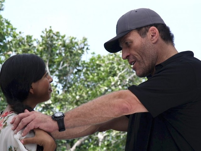 After nearly 40 years, Tony Robbins has boiled performance coaching down to two basic steps