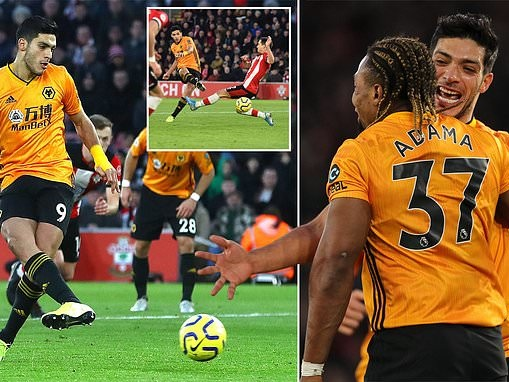 Southampton 2-3 Wolves: Visitors end winless run with brilliant second-half comeback