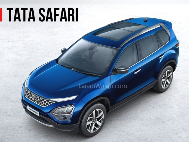 Upcoming Tata Safari To Boast Of Many Premium Features