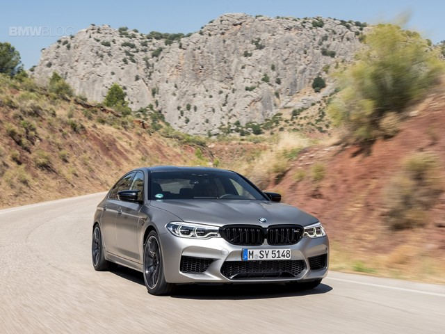 Video: Listen to the BMW M5 CS testing on the Nurburgring