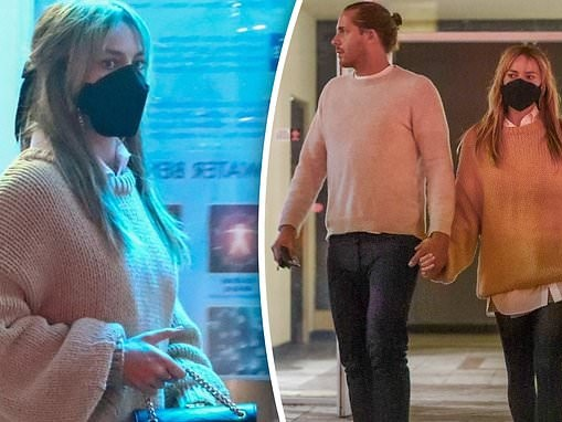 Margot Robbie heads out for a sushi date with husband Tom Ackerley in Los Angeles