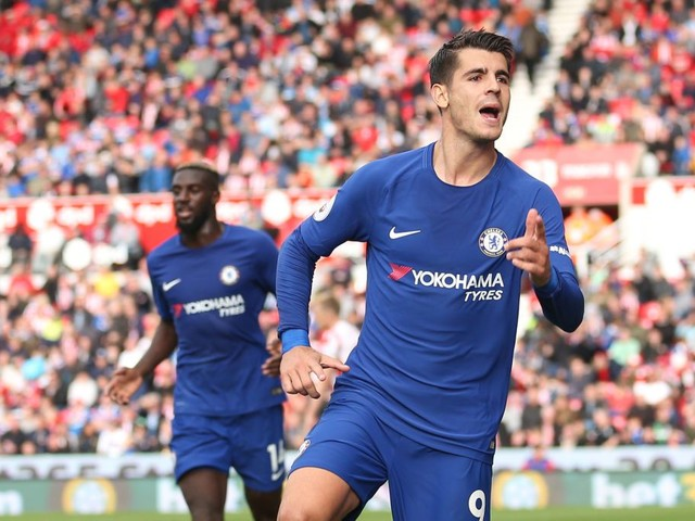 Chelsea hat-trick hero Alvaro Morata sends warning to Premier League rivals