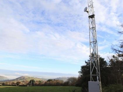 ISP Dyfed Superfast Brings Wireless Broadband to Yscir in Wales