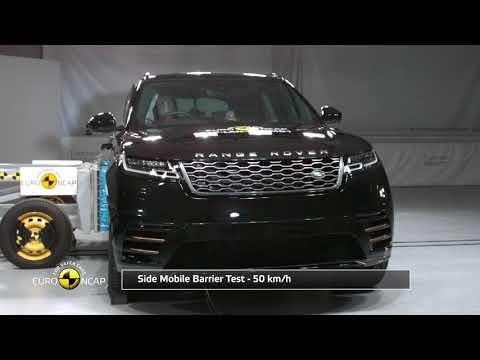 Range Rover Velar scores Euro NCAP five-star rating