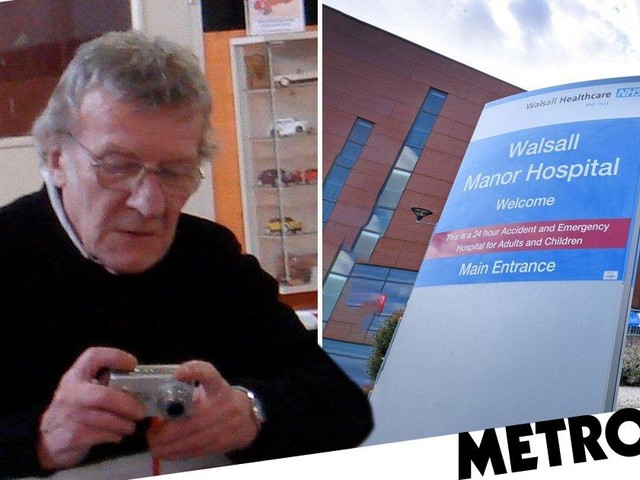 Great-granddad died 'after being left without food or water in hospital'