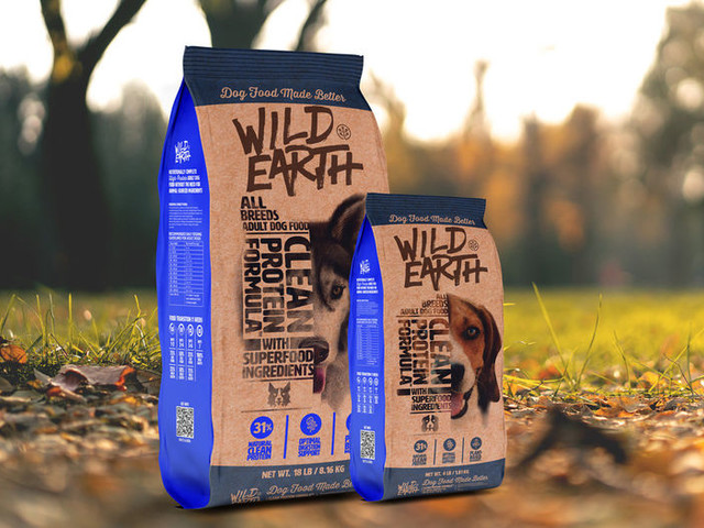 Plant-Based Dog Foods - Wild Earth's High-Protein Meat-Free Dog Food is Nutritionally Complete (TrendHunter.com)