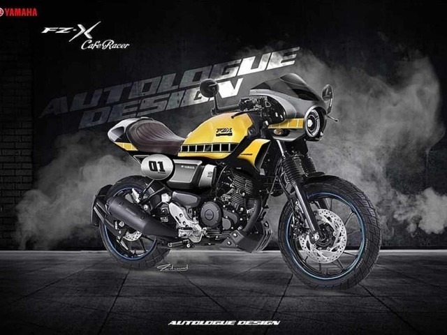 Yamaha FZ-X gets Café Racer Treatment from Autologue Design