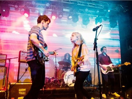 Alvvays live at Manchester Academy