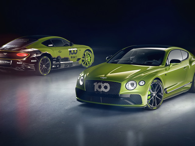 Bentley Continental GT Limited Edition celebrates 2019 Pikes Peak victory