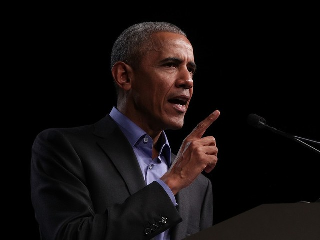 Obama says Gillespie's racist campaign 'trying to deliver fear...as cynical as politics gets'