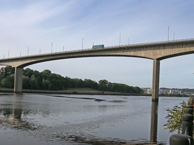 Man fighting for life after falling from Redheugh Bridge onto Newcastle Quayside