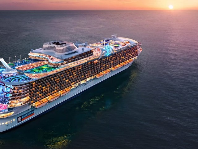 Royal Caribbean is building the new world's largest cruise ship —see the Wonder of the Sea