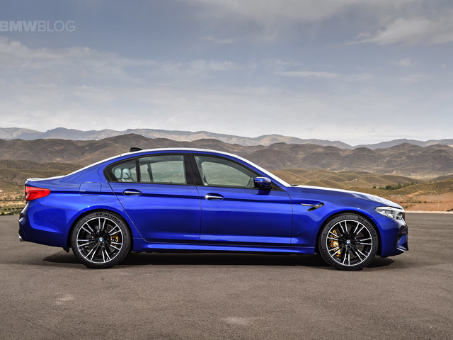 BMW M5 Configurator goes live on German site