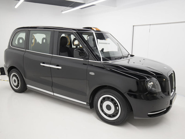 First ride: LEVC TX taxi prototype on the streets of London