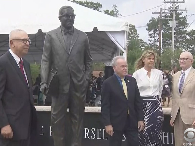 Thurgood Marshall Human Rights Monument Unveiled In Rockland County