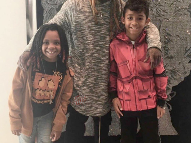Lil Wayne's Son Dwayne Michael Carter III Says His Father Had A Recent Studio Session With Chris Brown [Video]