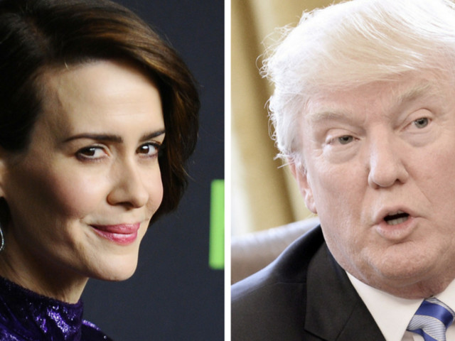 Sarah Paulson Is Game To Play Trump In Election-Themed 'American Horror Story'
