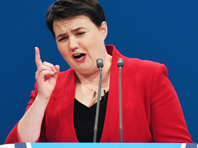 Theresa May Defended By Ruth Davidson - As PM Is Urged To Sack Boris