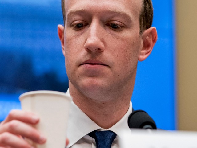 Years of Mark Zuckerberg's old Facebook posts have vanished. The company says it 'mistakenly deleted' them. (FB)