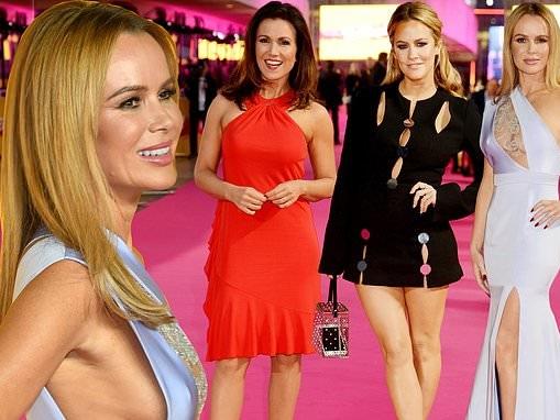 Caroline Flack and Susanna Reid dazzle at star-studded ITV gala