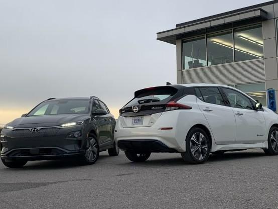 2019 Nissan Leaf Plus vs 2019 Hyundai Kona Electric Comparison
