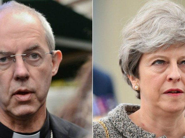Archbishop tells PM to 'draw the poison from Brexit'