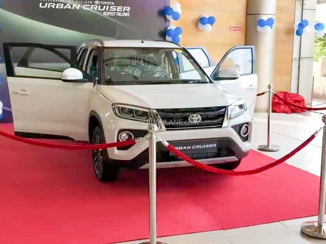 Toyota Urban Cruiser Display Car Arrives At Showroom – First Look