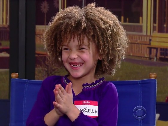 Stephen Colbert Let a Bunch of Adorable Kids Write a Movie for Andrew Garfield and Idina Menzel