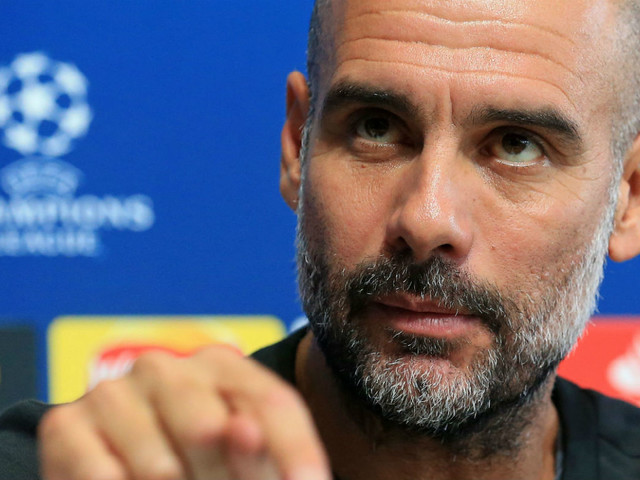 Pressure is slowly building on Man City boss Pep Guardiola