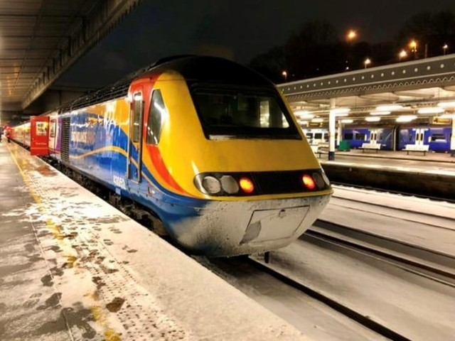 Win a ride in an Intercity 125 drivers cab